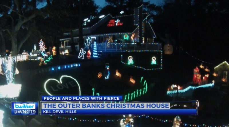 People & Places with Pierce: The Outer Banks Christmas House